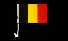 Drapeau de voiture Belgique - 30 x 40 cm
