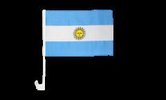 Drapeau de voiture Argentine - 30 x 40 cm
