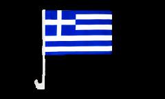 Drapeau de voiture Grèce - 30 x 40 cm