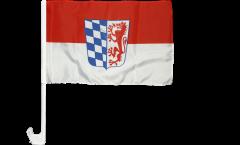 Drapeau de voiture Allemagne District de Basse-Bavière - 30 x 40 cm