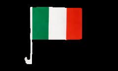 Drapeau de voiture Italie - 30 x 40 cm