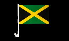 Drapeau de voiture Jamaïque - 30 x 40 cm