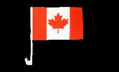 Drapeau de voiture Canada - 30 x 40 cm