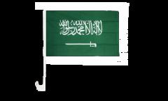Drapeau de voiture Arabie Saoudite - 30 x 40 cm