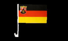 Drapeau de voiture Allemagne Rhénanie-Palatinat - 30 x 40 cm