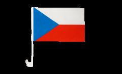 Drapeau de voiture République tchèque - 30 x 40 cm