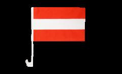 Drapeau de voiture Autriche - 30 x 40 cm
