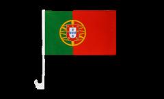 Drapeau de voiture Portugal - 30 x 40 cm