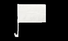Drapeau de voiture Blanc - 30 x 40 cm