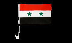 Drapeau de voiture Syrie - 30 x 40 cm