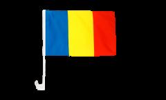 Drapeau de voiture Roumanie - 30 x 40 cm