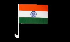 Drapeau de voiture Inde - 30 x 40 cm