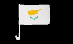 Drapeau de voiture Chypre - 30 x 40 cm