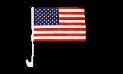 Drapeau de voiture USA Etats-Unis - 30 x 40 cm