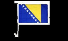 Drapeau de voiture Bosnie-Herzégovine - 30 x 40 cm