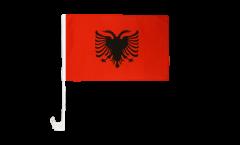 Drapeau de voiture Albanie - 30 x 40 cm