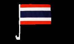 Drapeau de voiture Thaïlande - 30 x 40 cm