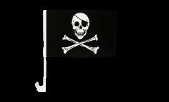 Drapeau de voiture Pirate - 30 x 40 cm