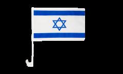 Drapeau de voiture Israel - 30 x 40 cm