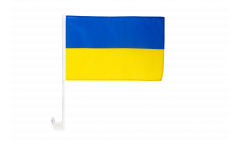 Drapeau de voiture Ukraine - 30 x 40 cm