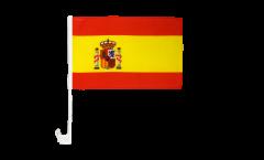 Drapeau de voiture Espagne - 30 x 40 cm