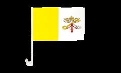 Drapeau de voiture Vatican - 30 x 40 cm