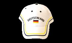 Casquette Allemagne blanc, nation