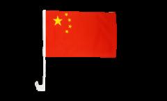 Drapeau de voiture Chine - 30 x 40 cm