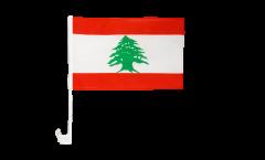 Drapeau de voiture Liban - 30 x 40 cm