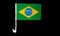 Drapeau de voiture Brésil - 30 x 40 cm