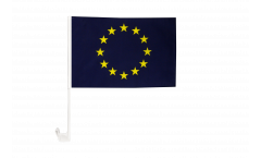 Drapeau de voiture Union européenne UE - 30 x 40 cm