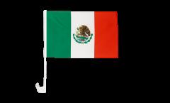 Drapeau de voiture Mexique - 30 x 40 cm