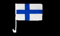Drapeau de voiture Finlande - 30 x 40 cm
