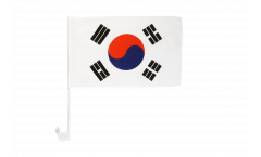 Drapeau de voiture Corée du Sud - 30 x 40 cm
