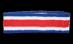 Bandeau de transpiration Costa Rica - 6 x 21 cm