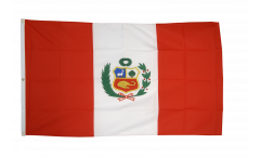 Drapeau Pérou - 150 x 250 cm