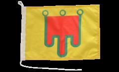 Drapeau pour bateau France Auvergne - 30 x 40 cm