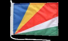 Drapeau pour bateau Seychelles - 30 x 40 cm