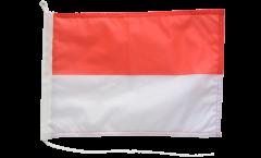 Drapeau pour bateau Indonésie - 30 x 40 cm