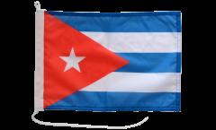 Drapeau pour bateau Cuba - 30 x 40 cm