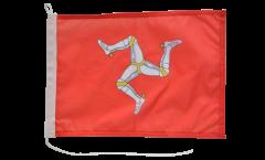 Drapeau pour bateau Royaume-Uni Île de Man - 30 x 40 cm