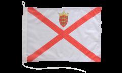 Drapeau pour bateau Royaume-Uni Jersey - 30 x 40 cm