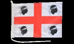 Drapeau pour bateau Italie Sardaigne - 30 x 40 cm