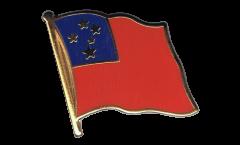 Pin's (épinglette) Drapeau Samoa - 2 x 2 cm