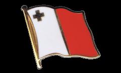 Pin's (épinglette) Drapeau Malte - 2 x 2 cm