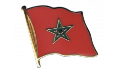 Pin's (épinglette) Drapeau Maroc - 2 x 2 cm