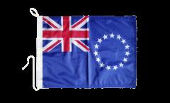 Drapeau pour bateau Îles Cook - 30 x 40 cm