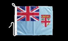 Drapeau pour bateau Fidji - 30 x 40 cm