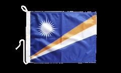 Drapeau pour bateau Îles Marshall - 30 x 40 cm