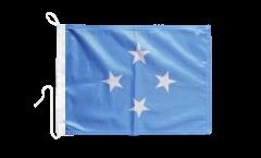 Drapeau pour bateau Micronésie - 30 x 40 cm